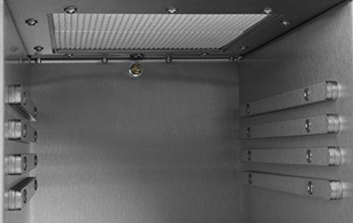 Beeftec HOTBOX | Der 800 Grad Oberhitze-Gasgrill aus Edelstahl - MADE IN GERMANY | inkl. Grillrost, Grillhandschuhe, Gastroschale u.v.m.