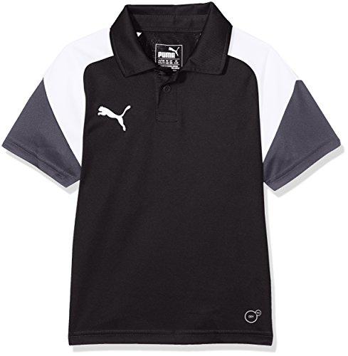 Puma Kinder Esito 4 Polo, Puma Black-Puma White-Ebony, 152 (Kinder-t-shirt 4)