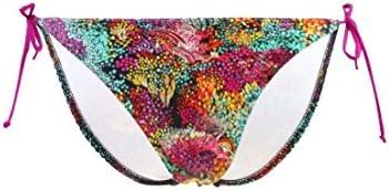 Bañador Carla-Bikini Culotte Tanga Deep Sandbar Multicolor