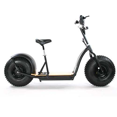 FORCA KNUMO 48V 1000W SXX FAT-WHEEL E-SCOOTER MIT 'ALLROUND'-REIFENPROFIL