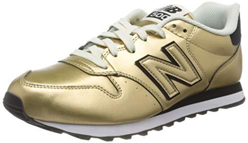 New Balance 500, Zapatillas para Mujer, Dorado Gold Oro Gold, 38 EU