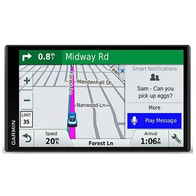 Garmin DriveSmart 61 LMT-S Fijo 6.95″ TFT Pantalla táctil 243g Negro navegador – Navegador GPS (Europa del Sur, 17,6 cm (6.95″), 1024 x 600 Pixeles, TFT, Horizontal, MicroSD (TransFlash))