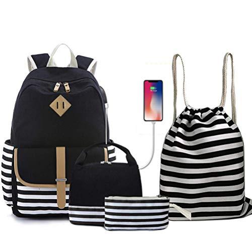 unisex geometrische Rucksäcke Druck Taschen Rucksack Kordelzug -