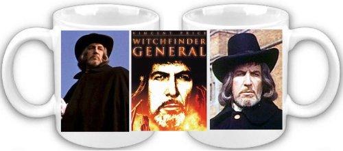 Cazador de brujas Vincent Price GENERAL de cartel taza de café