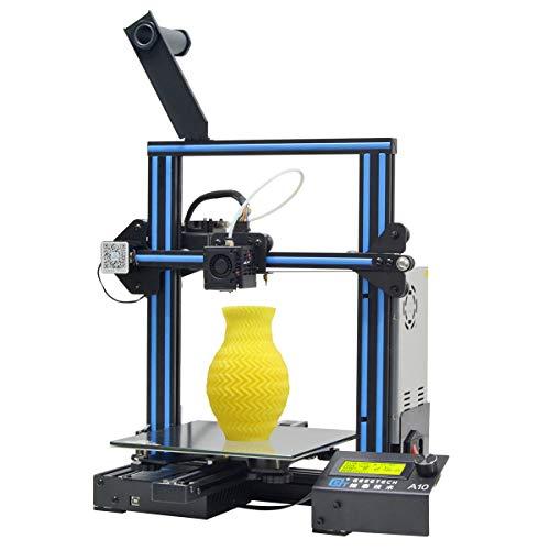 GIANTARM geeetech A10 3D-Drucker mit Großem Bauraum: 220 * 220 * 260mm, Schnell Aufzubauendes DIY Kit. Für 1.75mm PLA. -