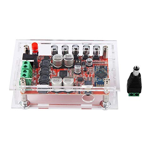 Liukouu TDA7492P Bluetooth CSR4.0 Digital Audio Leistungsverstärker Board Dual Channel + Acryl Shell Csr Video