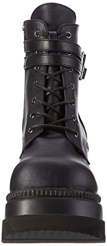 52 Shaker Damen Schwarz Stiefel schwarz Demonia YCnq80xpwp