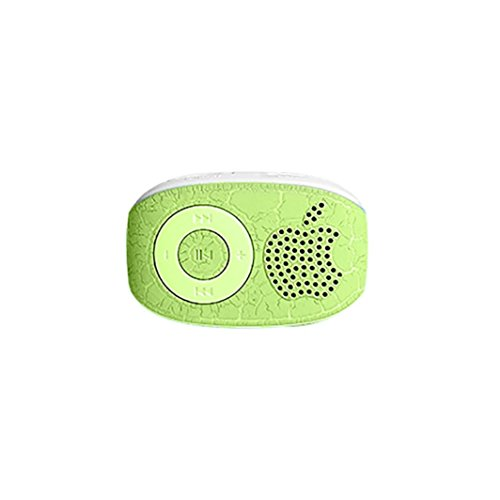 Amlaiworld sport Tragbare bunt Mini USB MP3-Player Classic lässig clip Musik player Urlaub Fitness Digital Audio Elektronisch geräte für 32GB TF Kartenslot (Grün)