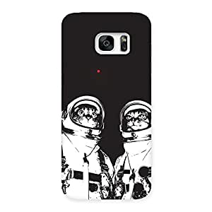 Special Cat Astro Back Case Cover for Galaxy S7 Edge
