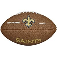Wilson Fútbol suave de la NFL, NFL, color NEW ORLEANS SAINTS, tamaño mini