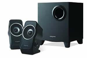 Creative A320 Système de haut-parleurs 2.1 Noir