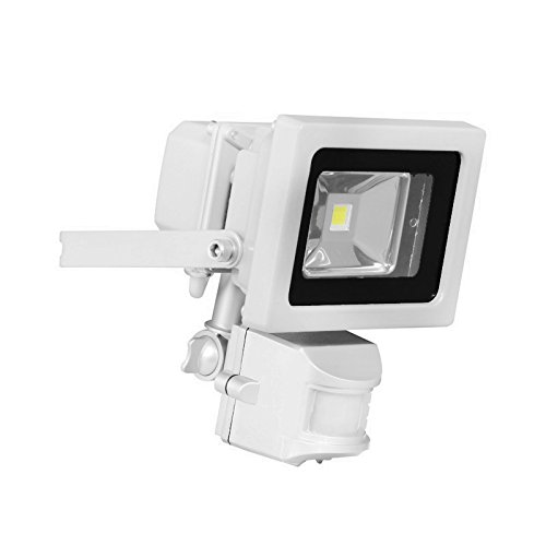 GWS-Classic-White-Casing-Outdoor-IP65-Waterproof-SMD-Chip-LED-Floodlight-with-PIR-Motion-Sensor-Energy-Saving-Security-Light