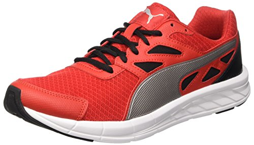 Puma Driver, Sneaker Man (Race), Rosso (High Risk Red/Argento/Nero), 9