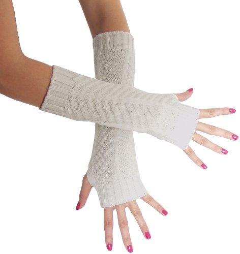 BRUBAKER Armstulpen Handschuhe Strick - 2
