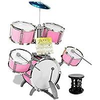 53f252f33d42d LIUFS-Tambor Tambor Niños Principiantes Juguete Instrumento Musical Tambores  Hombres Y Mujeres 3 Años Batería