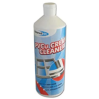 2 x BOND IT 1L PVCu Cream Cleaner double glazing conservatories windows doors