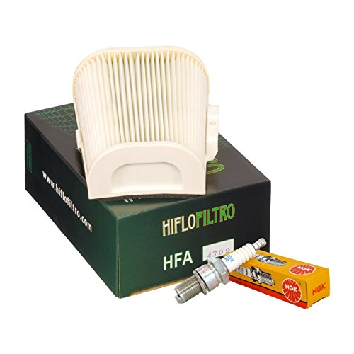 Filtro aria HifloFiltro HFA4702 candele NGK BPR7ES Yamaha XV Virago 750/1000