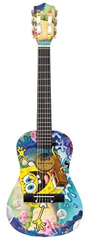 SpongeBob Schwammkopf SBG03 Schwammkopf Gitarren-Set 1/2 Grösse (Ukulele Spongebob)