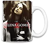 Selena Gomez Glamour Portrait - Glamour Portrait Unique Coffee Mug | 11Oz Ceramic Cup| The Best Way to Surprise Everyone on Your Special Day| Custom Mugs by