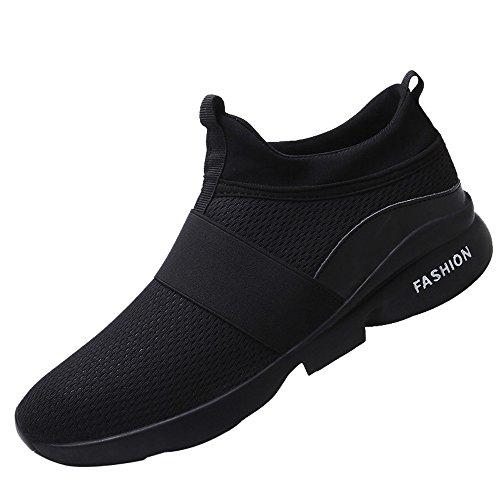 ALIKEEY Sneakers da Uomo Moda Estiva in Mesh Traspirante Scarpe da Passeggio Selvagge Casual Leggere