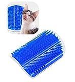 Jct, spazzola angolare da parete per gatti, per massaggio, con erba gatta
