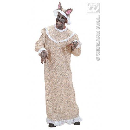 Widmann WDM - Kostüm Oma Wolf, Beige, Größe S