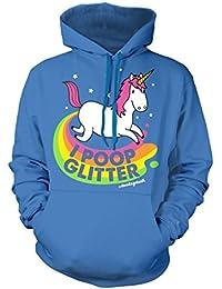 David and Goliath Poop Glitter Unisex Fit Hooded Sweatshirt