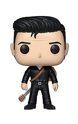 Funko- Pop Vinilo Johnny Cash in Black Figura Coleccionable, Multicolor (39525)