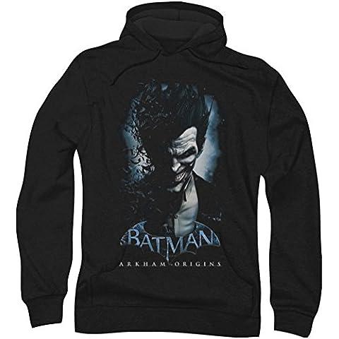 Batman: Arkham City - - Hombres sudadera con capucha Joker