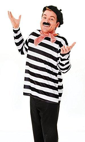 Franzose Set Kostüm für Frankreich Allo ZWEITER WELTKRIEG Kostüm Outfit Set (Kostüm Frankreich)