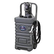 Sealey DT55GCOMBO1 55ltr Mobile Dispensing Tank with Diesel Pump-Grey