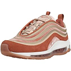 Nike Air Max 97 Ultra 17 LX Damen Running Trainers AH6805 Sneakers Schuhe (UK 7.5 US 10 EU 42, Dusty Peach Summit White 200)