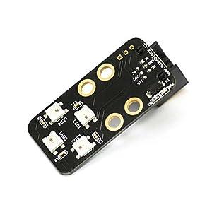 Makeblock - Módulo con Cuatro diodos RGB, para Robot (BXMA13400)