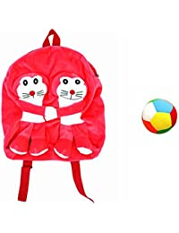 Jrp Mart Pink Twins DOBOX Soft Toy Bag With Little Ball