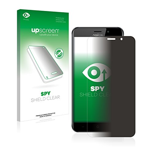 upscreen Anti-Spy Blickschutzfolie kompatibel mit TP-Link Neffos C7 Privacy Screen Sichtschutz Bildschirmschutz-Folie