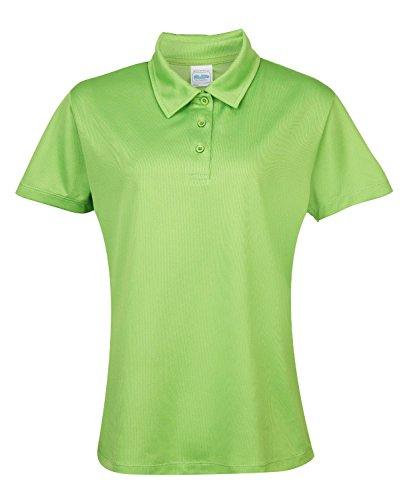 Girlie Cool Polo-Shirt Lime