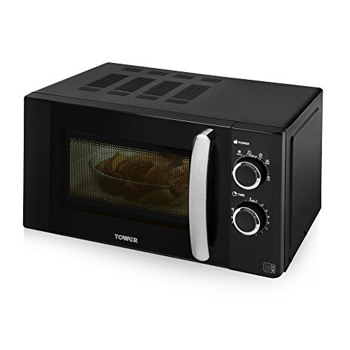 Tower T24009 Microwave, 800 W, Black