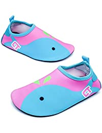 Tkiames Boys Girls Water Shoes Lightweight Quick-Dry Barefoot Aqua Socks Shoes(Toddler/Little Kid)