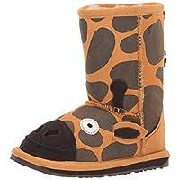 Emu Australia Kids Giraffe Deluxe Wool Boots Size UK 11 Gold