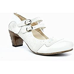 Rovers Damen Schuhe Pumps Leder Grau Sommer usedlook Größe 37