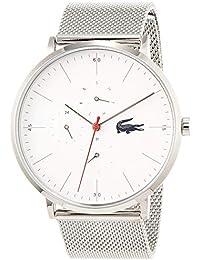 Lacoste Reloj Multiesfera para Hombre de Cuarzo con Correa en Acero Inoxidable 2011025