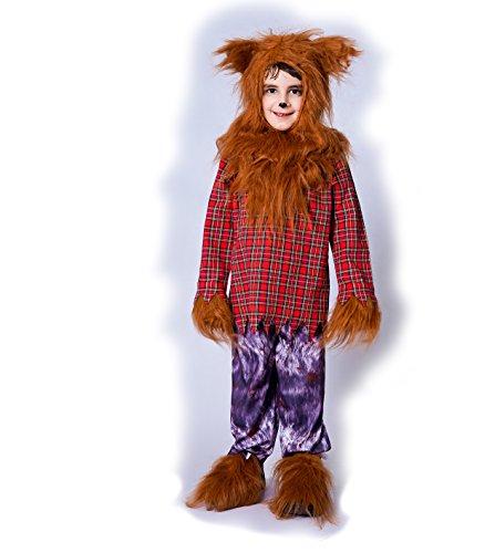 Sea Hare Jungen Wolf Tier Halloween Kostüm (S :4-6 ()