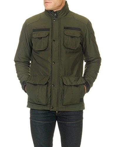 Jack & Jones Men's Men's Jacket In Green Color 100% Polyester green