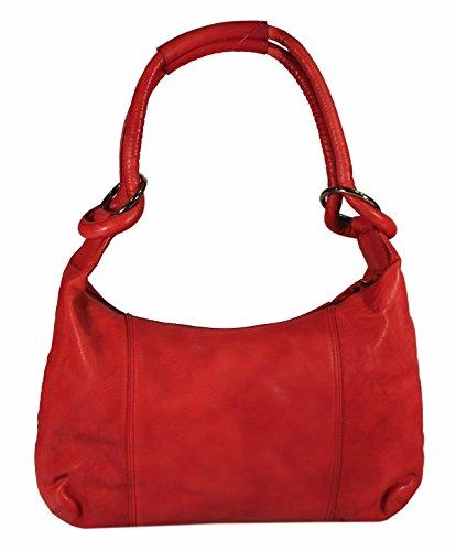 Rodhschild, Borsa tote donna rosso rot rot