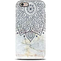 Mandala Marble Boho cover case TPU Tough for iPhone 5, 5s, SE, 6, 6s, 7, 7 plus, 8, 8 plus, X, XS, for Galaxy S6, S7, S8