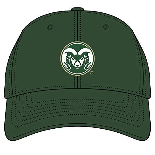 Ouray Sportswear NCAA Herren Mütze Colorado State Rams Epic Washed Twill, Epic Washed Twill Cap, Athletic Hunter, Einstellbar -