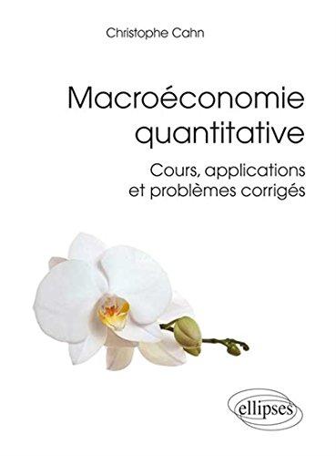 Macroéconomie Quantitative Cours Applic...