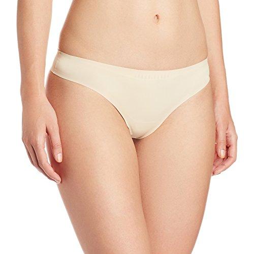 amanté Low Rise Bikini Brief (PAN11407_Almond Light_X-Large)