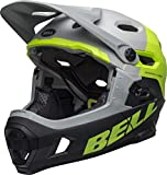 BELL Super DH MIPS Fahrrad Helm grau/grün/schwarz 2019: Größe: M (55-59cm)