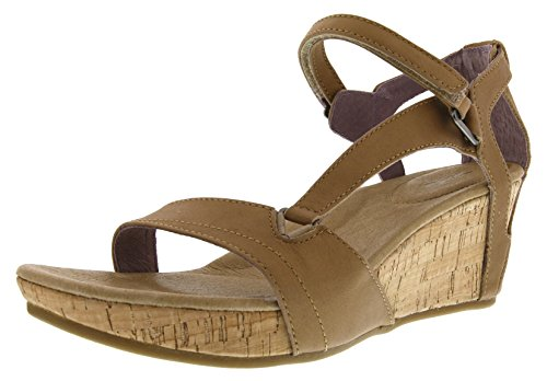 Teva Capri Wedge W's Damen Sport- & Outdoor Sandalen, Beige (Pearlized Tan 658), EU 41